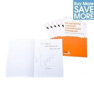 Class Pack - 30 A4 Reusable Gridded Whiteboard Notebooks™ - 8 pages