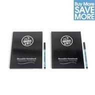 5 * Cuadernos Mágicos™ A5- cuadernos reusables y marcadores - 40 paginas