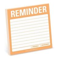 Knock Knock Reminder - notas adhesivas