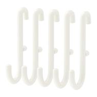 SKÅDIS - Gancho para tablero perforado comb, blanco - 5 unidades - IKEA