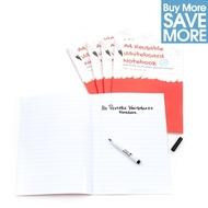 Paquete de clase- 30 A4 Cuadernos Mágicos reusables