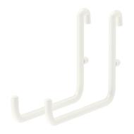 SKÅDIS - Gancho para tablero perforado comb, blanco - 2 unidades - IKEA