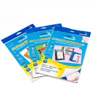 3 pack - Multi Pack - Pizarra Mágica A4 - ROSADA, BLANCA, VERDE- 60 hojas