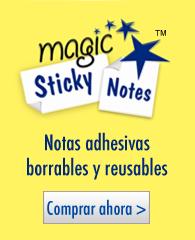 Notas Adhesivas Mágicas ™