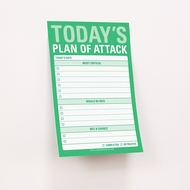 Knock Knock Today's Plan of Attack - Grandes notas adhesivas - Great Big Sticky Notes