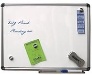 Pizarra magnética 60 x 90 cm.  Incluye marcadores de pizarra blanca, borrador de pizarra e Paños Mágicos- 25 por pack