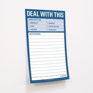 Knock Knock Deal With This - Grandes notas adhesivas - Great Big Sticky Notes