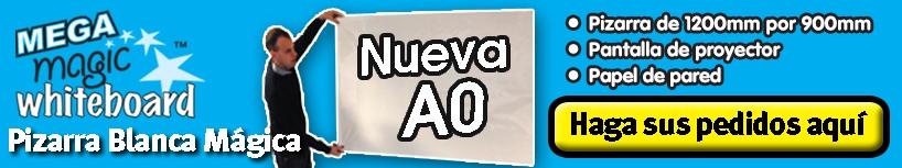 Pizarra Blanca Mágica MEGA A0