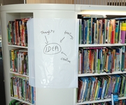 Magic Whiteboard used in library