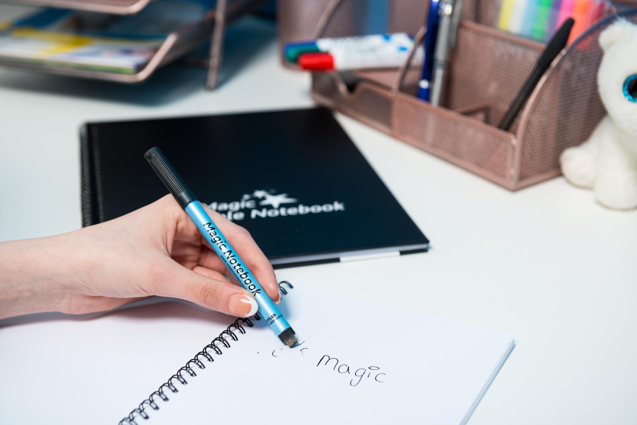 A5 reusable whiteboard notebook