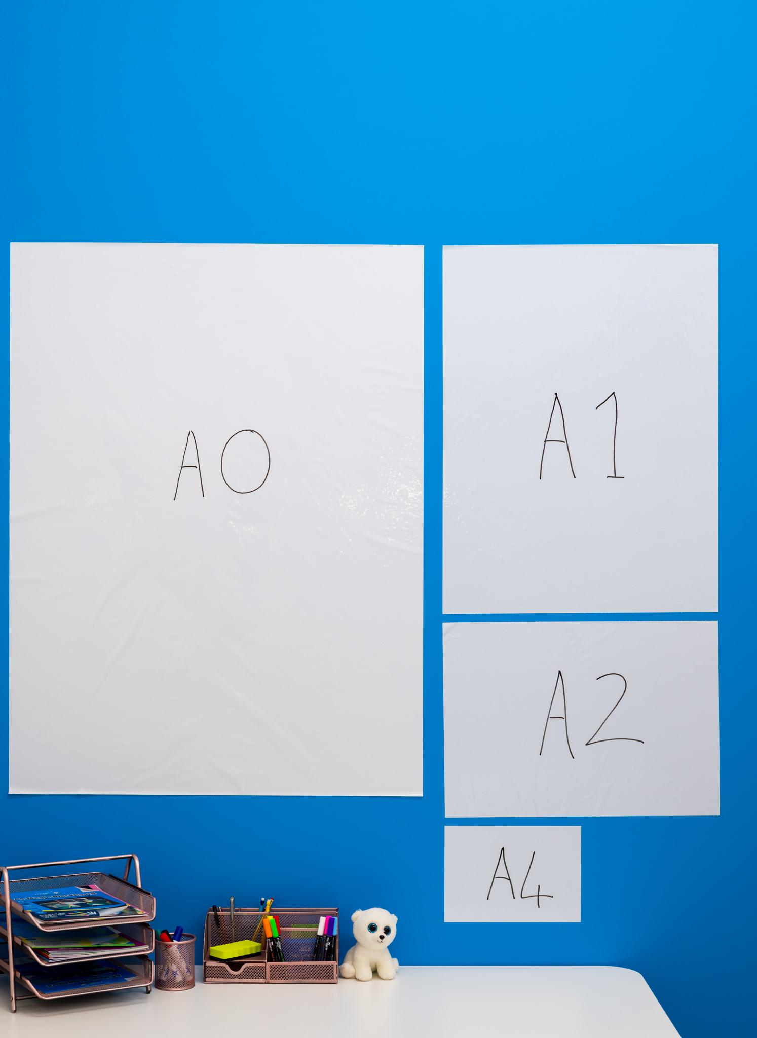 A0, A1, A2 and A4 Magic Whiteboard