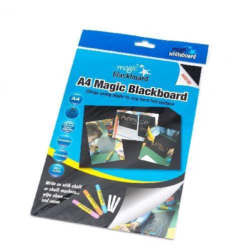 Mini Pizarra Negra Mágica A4,  la mejor pizarra negra A4, la mejor pizarra negra de tiza A4