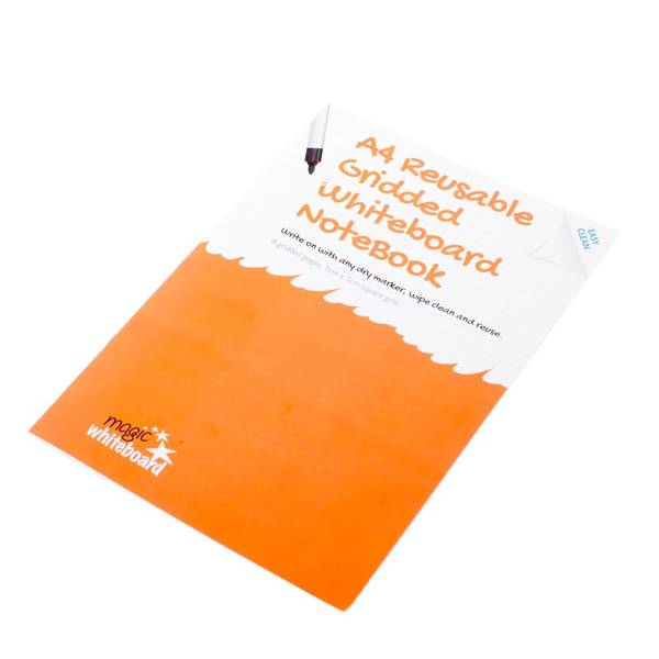 cuaderno pizarra reusable para matematicas