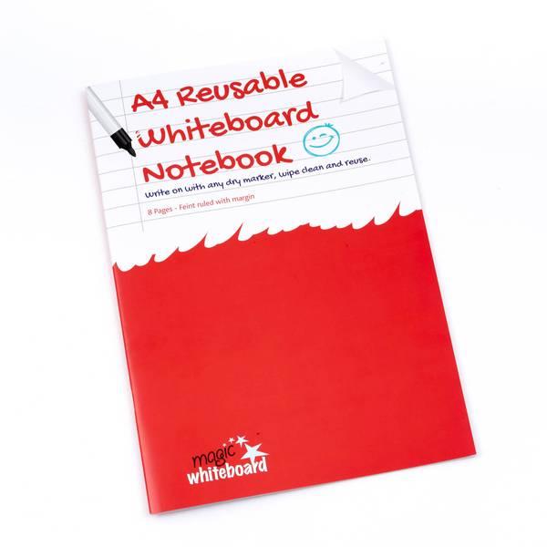 Cuaderno Magico A4 Lineado con margen ™ - cuaderno reusable - 8 paginas