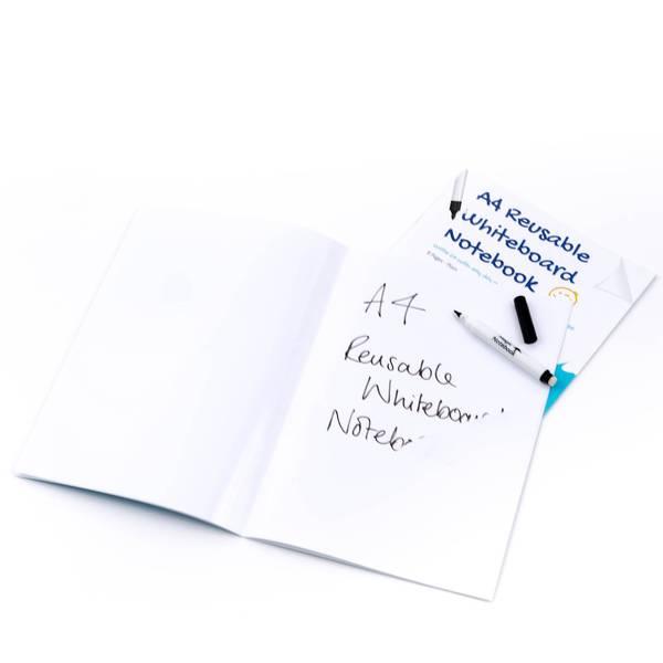 a4 reusable whiteboard notebook