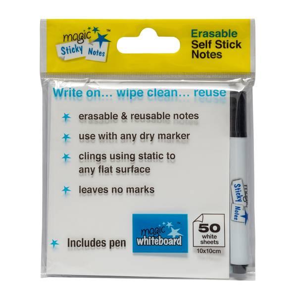 Notas Adhesivas Mágicas Blancas, las mejores notas post it, notas post it baratas, mejores notas adhesivas, notas adhesivas baratas