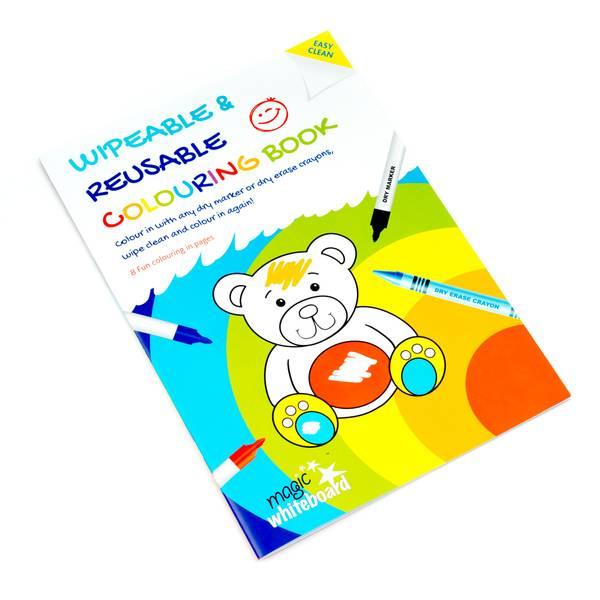 Cuaderno de Colorear A4 Reusable para niños