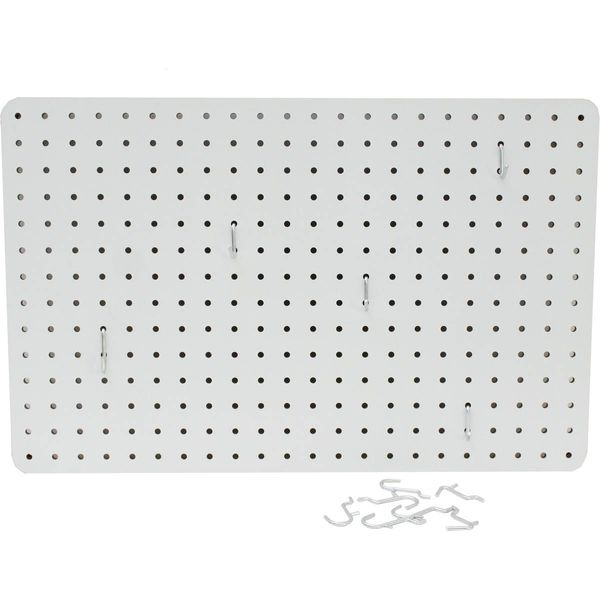 Tablero perforado comb - Blanco 36 x 56cm