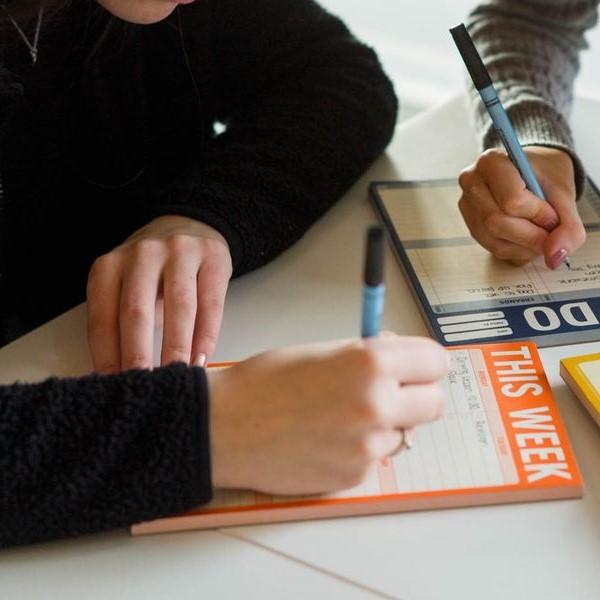 🎅 Knock Knock ® Stationery España | Bloque de memo divertido | Bloc de notas para hacer