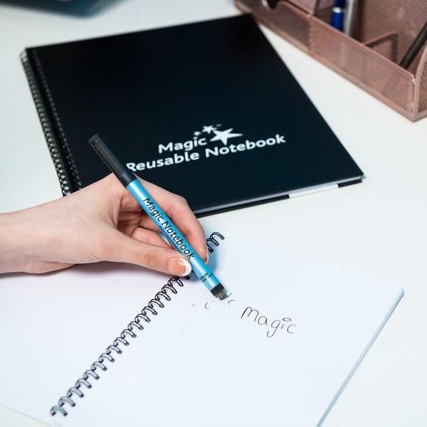 ♻️ Cuaderno y cuadernos  📓 Cuaderno Magico ™ Reusable | el cuaderno que puede ser borrado una y otra vez!
