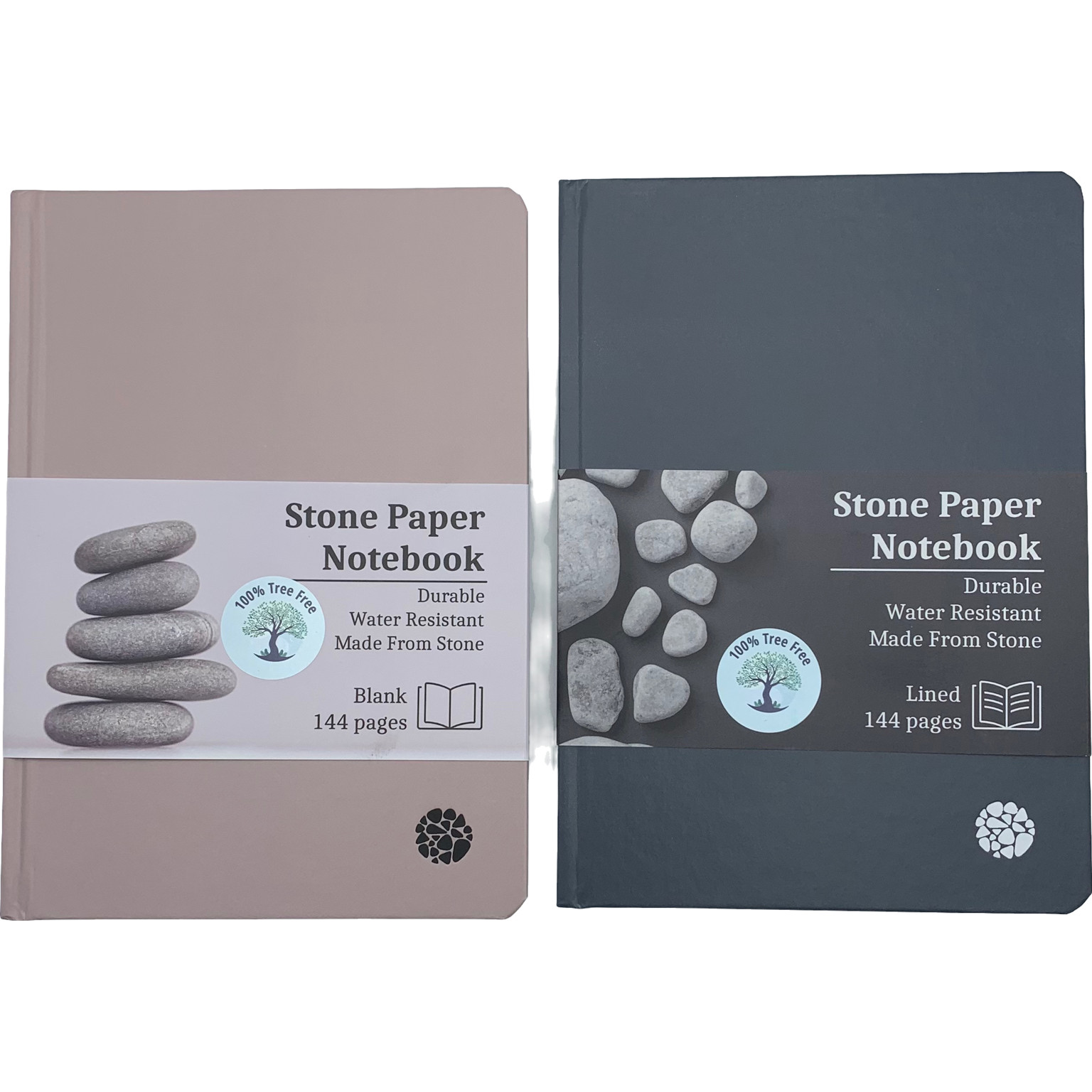 100% Tree Free Notebooks - paper made from stone, not trees