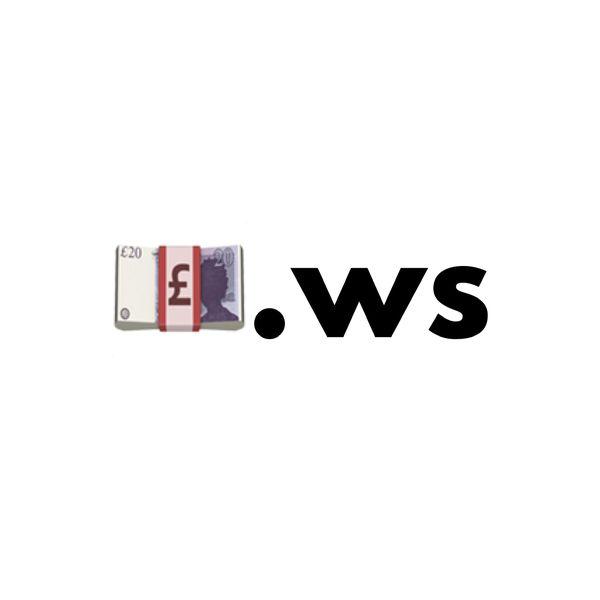 💷.ws Single Emoji Domain