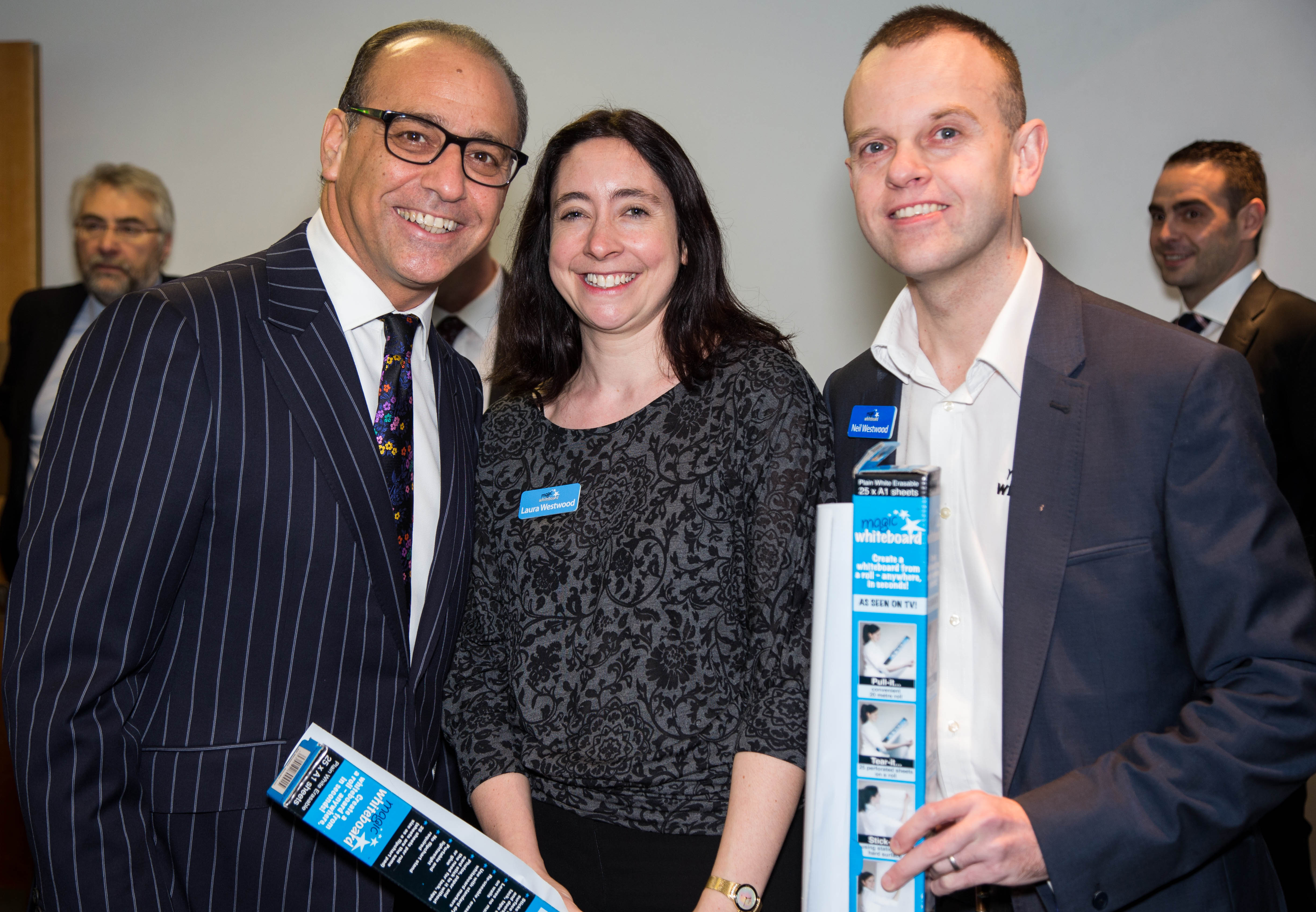 Magic Whiteboard SBS Angel Theo Paphitis